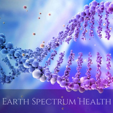 health and wellness websites design for Earth Spectrum Health