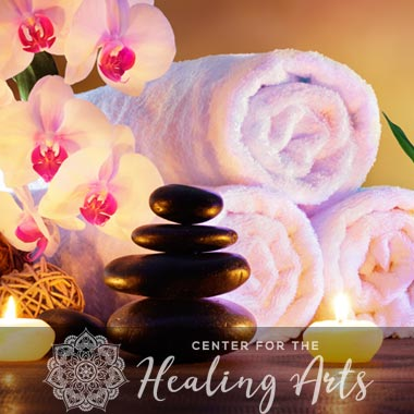 web design for massage therapy website Center for the Healing Arts